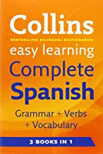 Easy Learning Complete Spanish Grammar, Verbs and Vocabulary (3 Books in 1) (Collins Easy Learning Spanish) (Spanish and English Edition)