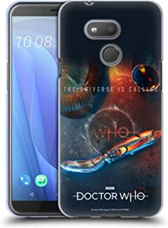 Official Doctor Who Sonic Screwdriver Season 11 Key Art Soft Gel Case Compatible for HTC Desire 12s (2018)