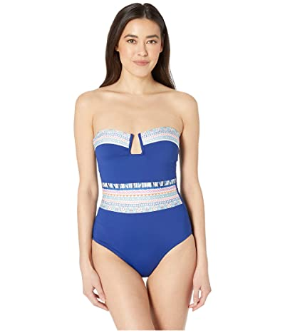 La Blanca Milano Bandeau One-Piece Swimsuit (Multi) Women