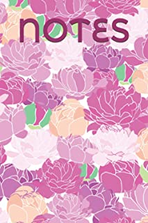 Peony Discreet Password Log Book (NOTES): an Elegant Floral Organiser for Website and Email Passwords disguised as a plain...