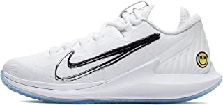 Womens Air Zoom Zero Tennis Shoe (7 B US, White/Metallic Summit White/Black/Canary)