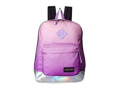 JanSport Super FX (Iridescent Sunset) Backpack Bags
