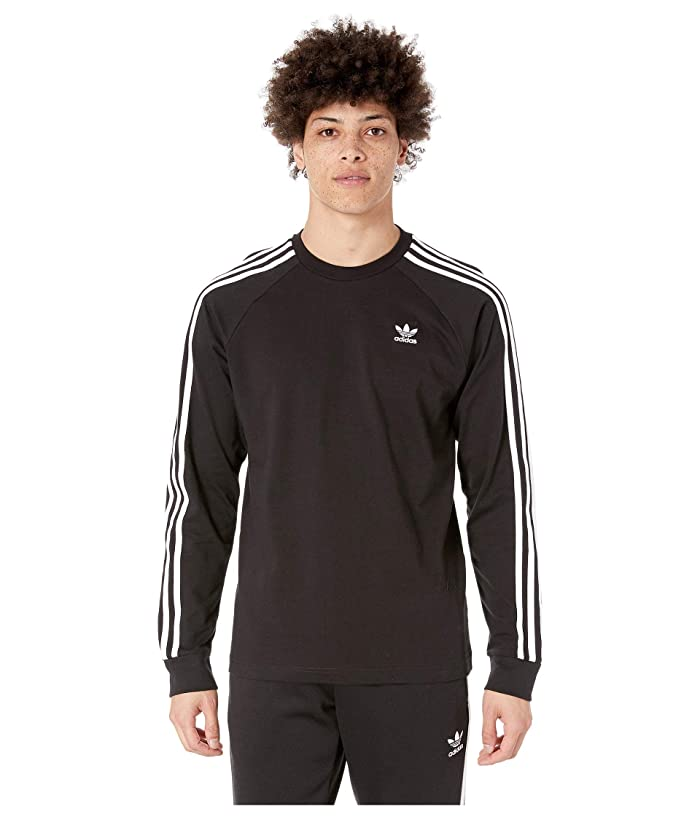 7210db445174c0 adidas Originals 3-Stripes Long Sleeve Tee | Zappos.com
