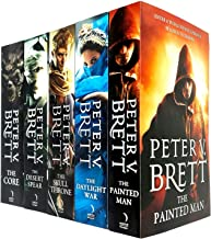 The Demon Cycle Series Peter V. Brett Collection 5 Books Set The Painted Man, The Desert Spear, The Daylight War, The Skul...