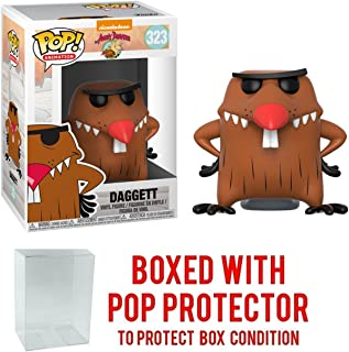 Funko Pop Television: Angry Beavers - Nickelodeon Daggett Collectible Vinyl Figure + Pop Protector
