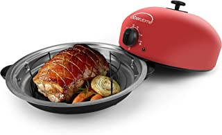EaZy BrandZ EZO-1010R oberdome Countertop Electric Roaster Oven with domelok Heat Technology, Red, Standard