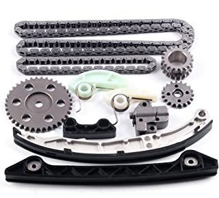 Engine Timing Part Chains Set Timing Chain Kits, SCITOO fits ford Fusion Mercury Milan 2.3L 2.5L DOHC 16V L4 2006-2013 Replacement Timing Tools