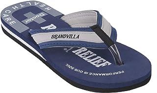 brandvilla Doctor Extra Soft Slipper Ortho Care Orthopaedic Comfort Dr.Slipper for Men's