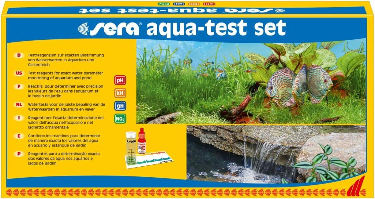 Sera New York Mall Aqua-Test Set Aquarium Test Shipping included Kits