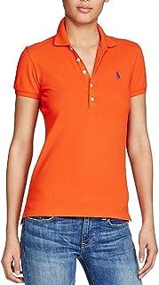 Polo Ralph Lauren Orange Shirt Neck Polo For Women