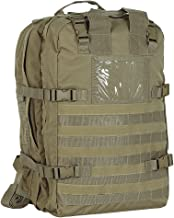 VOODOO TACTICAL Men's Deluxe Professional Special Ops Field Medical Pack, Coyote