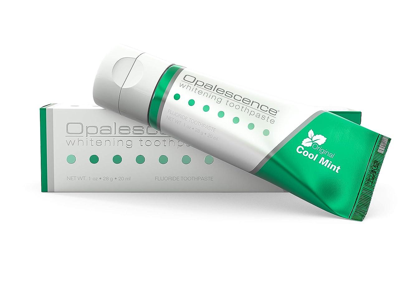 うめき声同盟薬理学オパールエッセンス Opalescence ホワイトニング 歯磨き粉 トラベルサイズ クールミント
