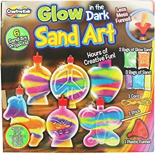 CK Activity Glow in the Dark Super Sand Art Kit - 6 Sand Art Projects