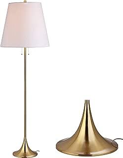 JONATHAN Y JYL3001A Amelia Metal Floor Lamp, 63