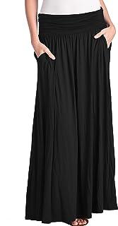 TRENDY UNITED Women's High Waist Fold Over Pocket...