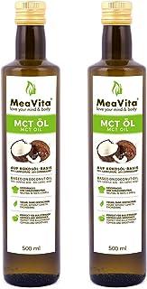 comprar comparacion Meavita Aceite Meavita Mct, Paquete De 2 (2X 500 Ml) 1000 ml