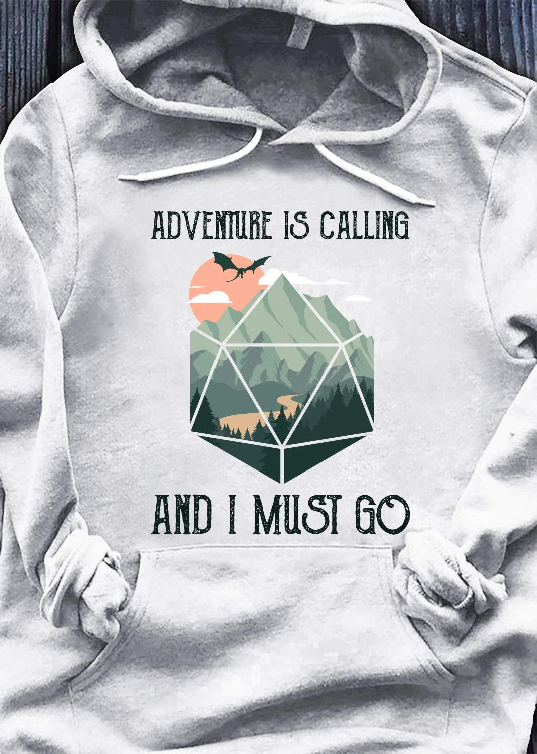 Adventure Is A Calling And All stores are sold El Paso Mall I Birthday Go - Camping Hoodie Must