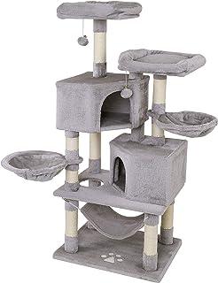 Dibea KB00365, Árbol Rascador para Gatos Acogedor y de 145