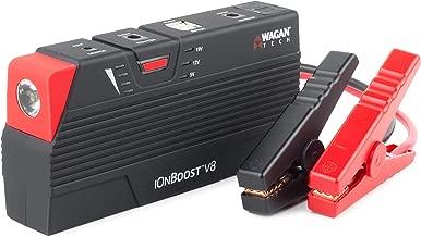 Wagan Black 55.5 Wh EL7503 iOnBoost 600A Lithium Jumpstarter & Battery Bank