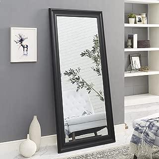Naomi Home Framed Floor Mirror Black/65