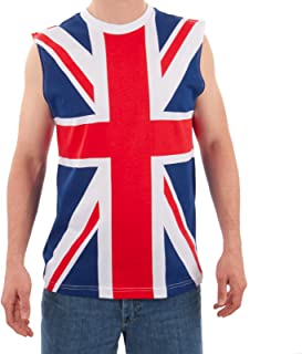 Men's British Flag Tank Multicolor