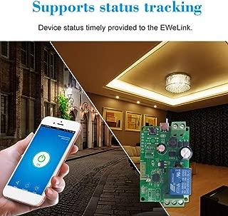 Jiad Kde Sonoff DC5V 12V 24V 32V Wireless Smart Wifi Switch Wireless Relay Module WI-FI Smart