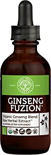 Global Healing Ginseng Fuzion Organic Raw Herbal Extract - Liquid Supplement Drop Promotes Energy and Reduc...
