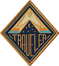 Asilda Store Embroidered Sew or Iron-on Patch (Traveler)