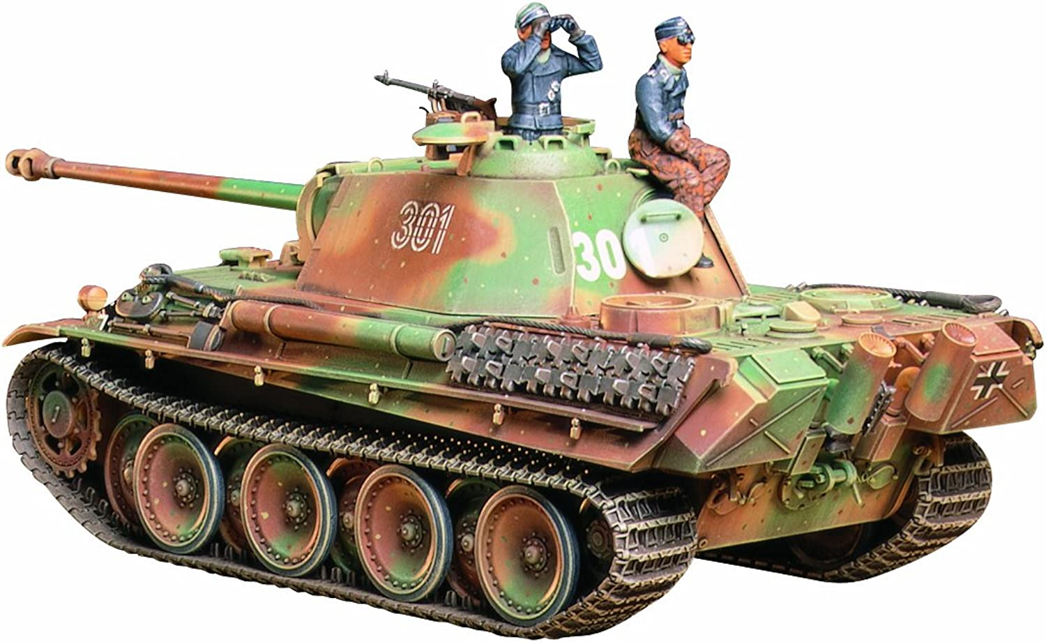 Tamiya 35176 Panther G Late Version - 1 35 Scale WWII - Military Plastic Model Kit