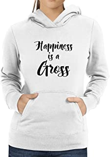 Eddany Happiness is a Gross Women Hoodie