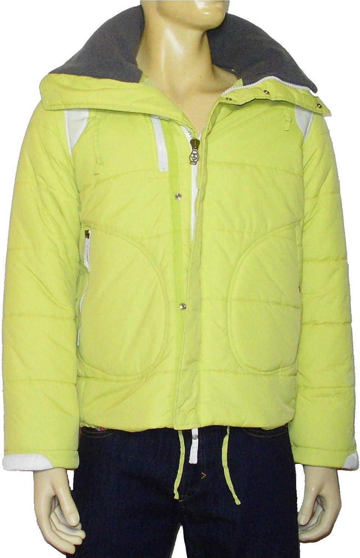 Diesel Men's Winter Jacket with Detachable Hood YNIZE Pistachio