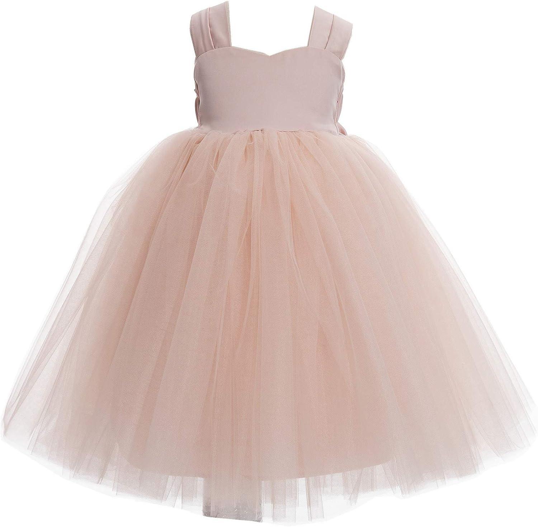 Sweetheart Neck Top Tutu Junior Flower Girl Dress Elegant Tea Party Gown 201