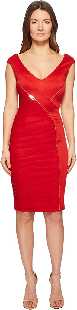 Versace Collection - Abito Donna Asymmetrical Zip Sheath Dress