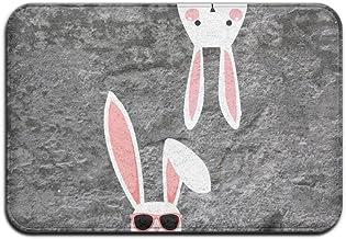 Rabbit Personality Nice Personalized Door Mats Monogram Doormat