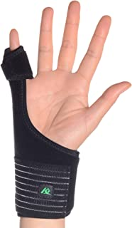 Kangda Trigger Finger Splint for Mallet Thumb Index Middle Ring Pinkie Finger Medical Hand Brace Fracture Wound Extension Arthritis Knuckle Joint Pain Relief Adjustable Universal Wrist
