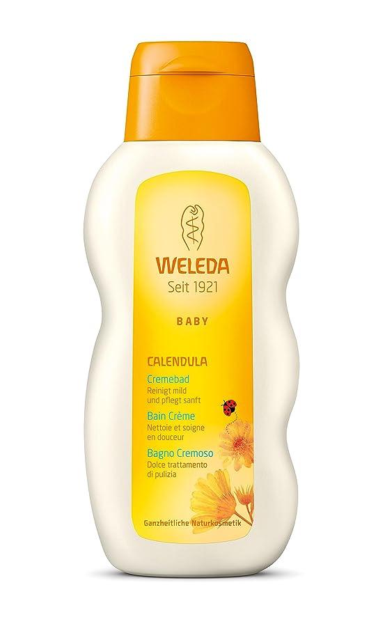 炭素重要な退却WELEDA(ヴェレダ) カレンドラ ベビークリームバスミルク 200ml 【生まれたての赤ちゃんから使用できます】