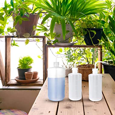 ZOUTOG Watering Can, 5 Pack Squirt Bottle, Plastic Wash Bottle, Squeeze Bottle for Plant Flower Succulent Watering - 1000ML a