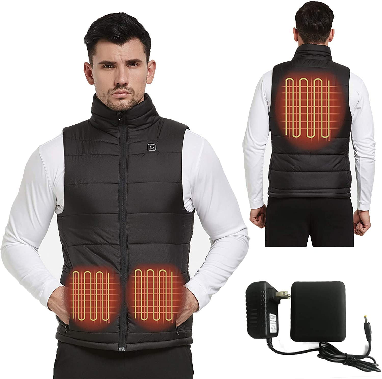 人気ショップが最安値挑戦 Heated Vest for Men 男女兼用 Women and Teen A 7.4V with Pack Girl Battery