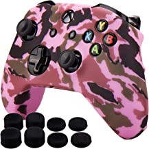 Pandaren Silicone rubber cover skin case anti-slip Water Transfer Customize Camouflage for Xbox One/S/X controller x 1 Pin...