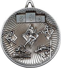 Lapal Dimension Athletics Deluxe Medaille - Antiek Zilver 6,0 cm