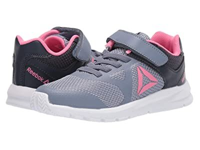 Reebok Kids Rush Runner Alt (Little Kid) (Indigo/Navy/Pink) Girls Shoes