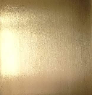 "Sheet Metal - Jeweler's Bronze (bare), 20ga, 6""x6"""