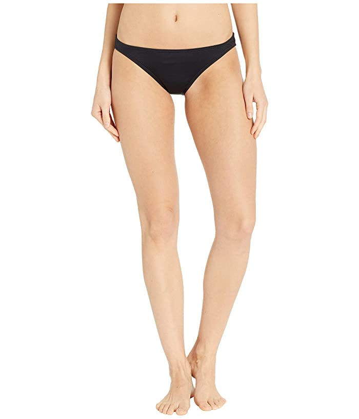 Kate Spade New York Cape May Classic Bikini Bottoms (Black) Women