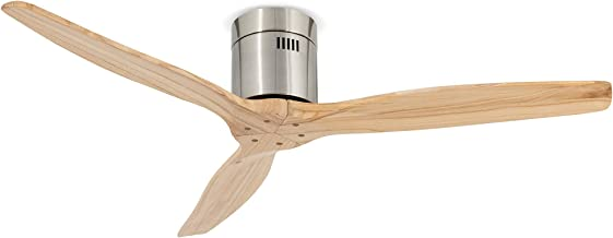 IKOHS Create AIRCALM DC - Ventilateur de Plafond Fonction Hiver/été Ultra Silencieux