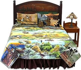 Ducks Galore 3 Piece Set, Quilt Queen-92 x88, 2-Standard Pillow Shams