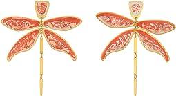 Tory Burch Dragonfly Earrings