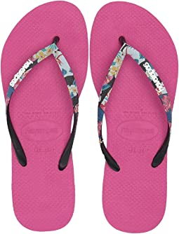 Slim Tropical Straps Sandal