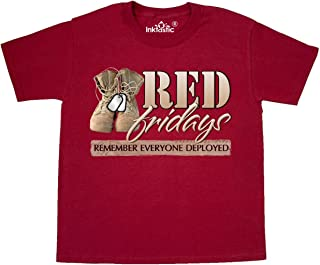 Red Fridays (Remember Everyone Deployed) Youth T-Shirt