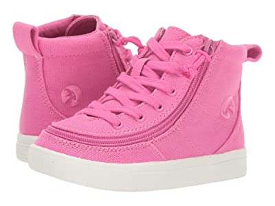 BILLY Footwear Kids Classic Lace High (Toddler) (Pink Raspberry Canvas) Girl
