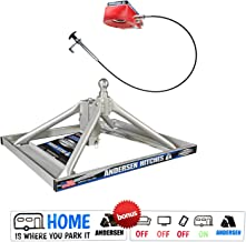 Andersen Hitches 3220   Aluminum Ultimate 5th Wheel Connection 2   Gooseneck Version   Weighs Only 35 lbs   ONE Person Install or Removal in Less Than 5 Minutes!   Smooth Ride - More Swivel  